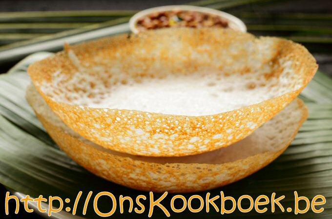 Appam Glutenvrije rijstpannenkoek