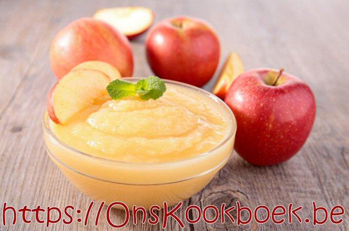 Zelf appelmoes maken met het recept van Jeroen Meus