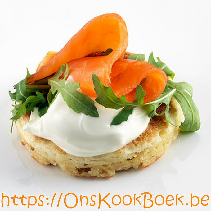 Blini pannenkoek