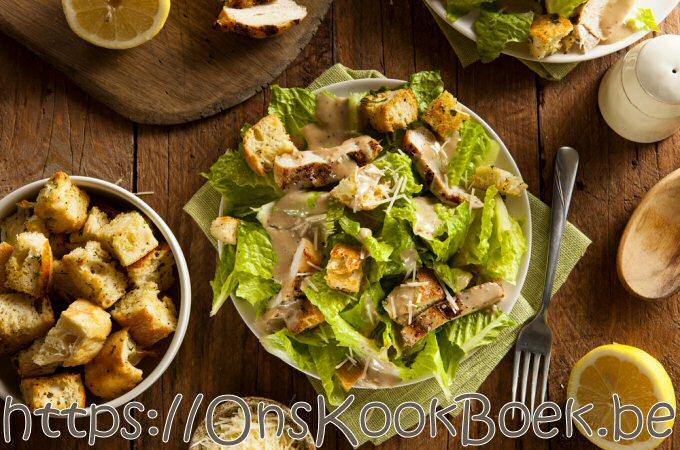Caesar salade Jeroen Meus