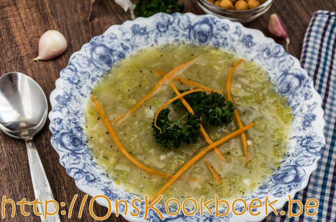 Courgettesoep met prei: makkelijk, lekker, goedkoop genieten