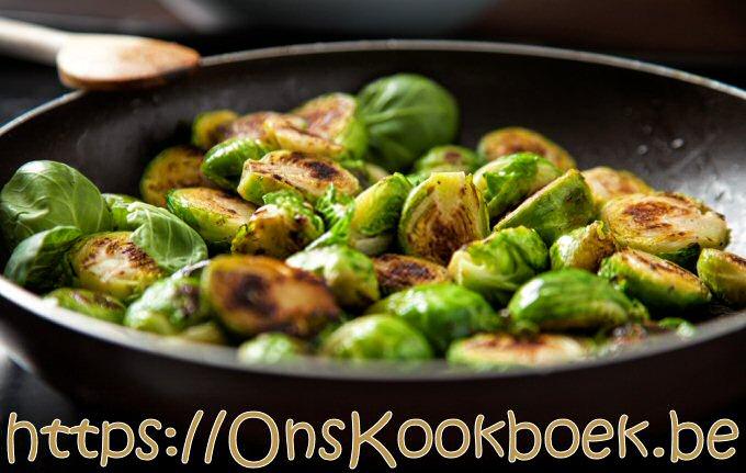 Spruitjes maken à la Sandra Bekkari: gebakken in de pan