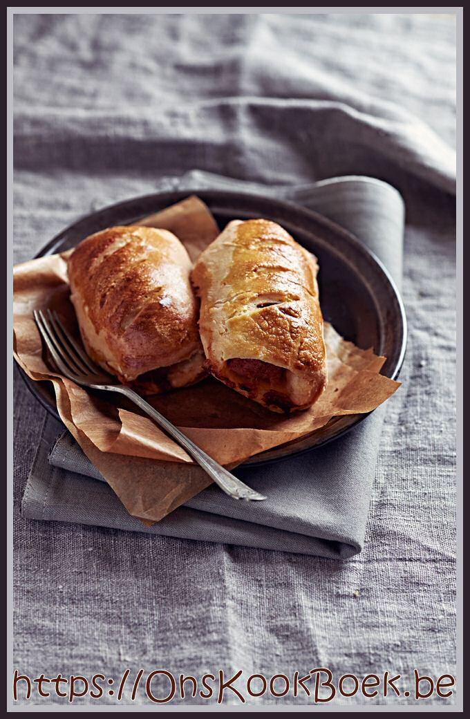 Worstenbroodjes maken met het recept van Jeroen Meus