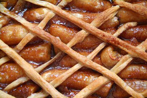Bananentaart van Jamie Oliver