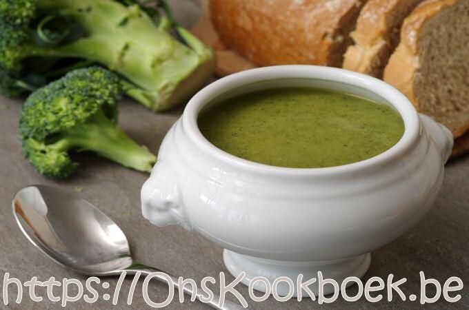Broccolisoep volgens Piet Huysentruyt