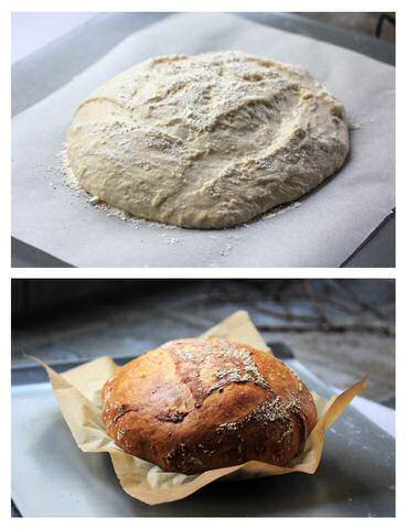 Zelf volkorenbrood bakken oven recept
