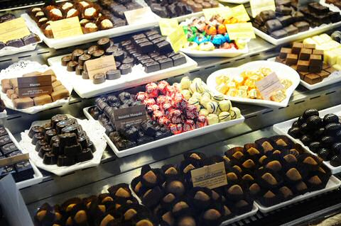 Chocolade pralines van Leonidas