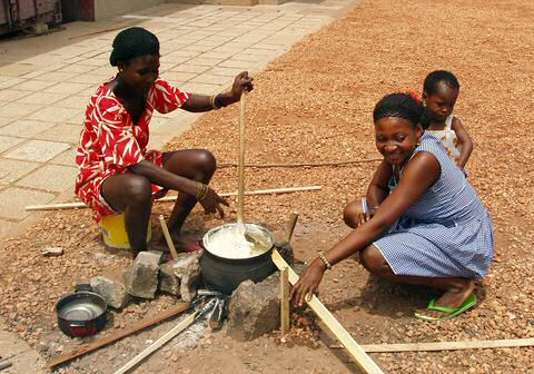 Congolese recepten klaarmaken