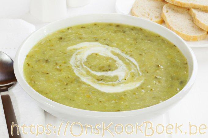 Courgettesoep met yoghurt, beter dan Jamie Oliver