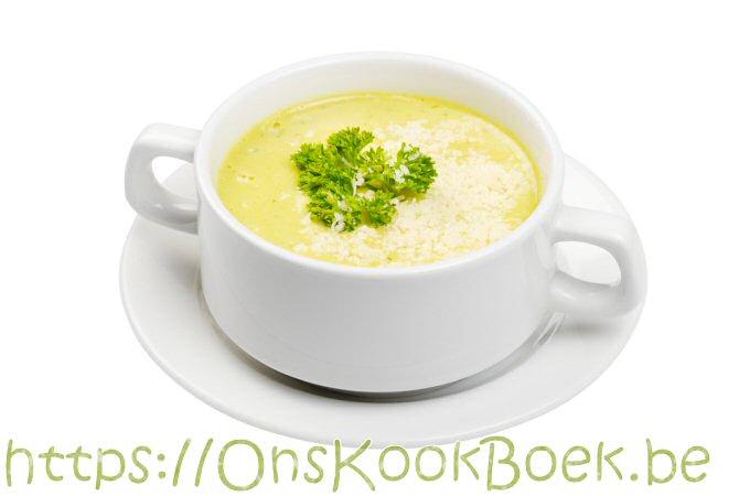 Courgettesoep met Boursin = Romig + Boordevol smaak!