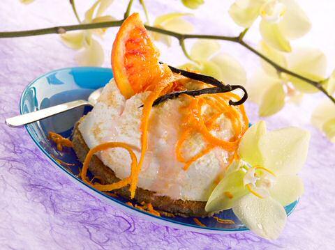 Dessert met ricotta