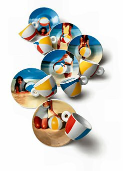 Illy espresso kopjes van Marina Abramovic