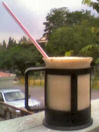 Koffiesiroop ijskoffie