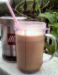 Hianan koffie smoothie
