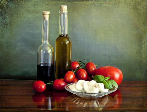 Tomaat mozzarella salade ingrediënten