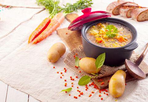 Vegetarische hutsepot