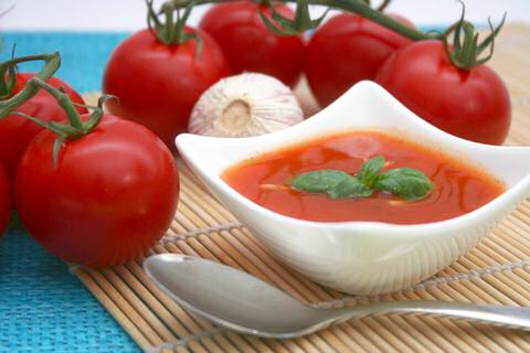 Verse tomatensoep