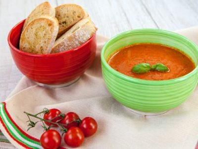 Tomaten creme soep
