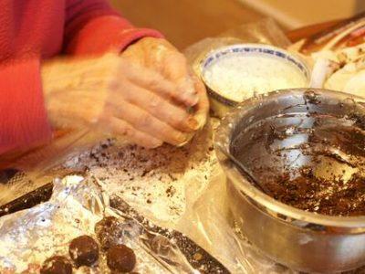 Chocolade truffels maken