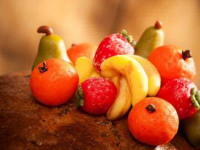 Marsepein fruit figuren