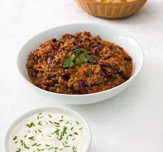 Chili con carne recept