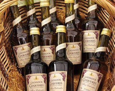 Calvados drank