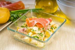 Aardappelsalade maken