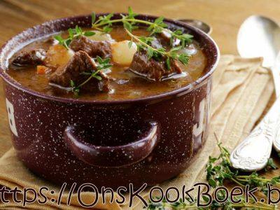 Boeuf bourguignon recept