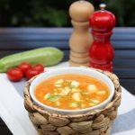 SOS Piet courgettesoep maken met alle groenten die je NU in huis hebt