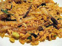Gabekken rijst (nasi goreng)