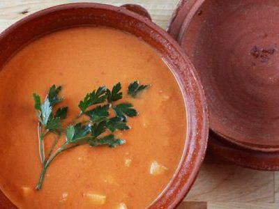 Gazpacho koude Spaanse soep