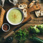 7 ingredienten broccoli courgette soep en… Klaar binnen 30 minuten!