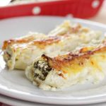 Canneloni spinazie ricotta