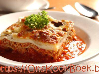Recept Lasagne
