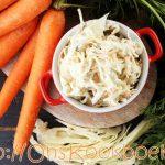 Witte kool salade = de smakelijkste manier om witte kool te maken
