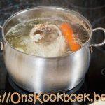 Kippensoep maken