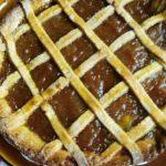 Abrikozen taart