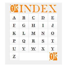 Ons Kookboek Recepten Index