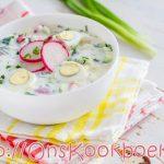 Okroshka | Makkelijk Goedkoop Gezonde Soep voor warme dagen