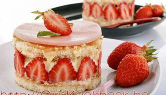 Fraisier taart